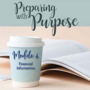 Preparing with Purpose Module 4