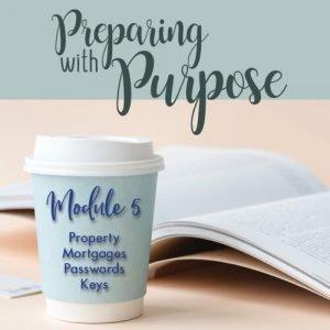 Preparing with Purpose Module 5